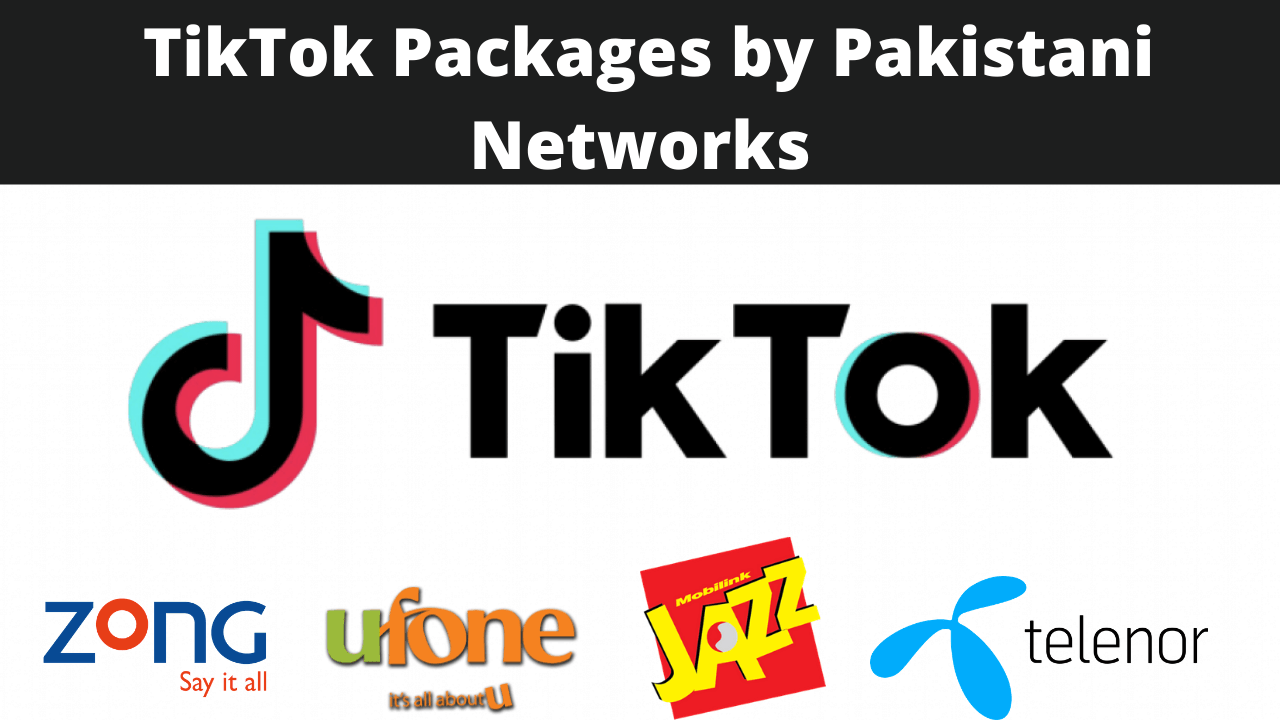 Mobile Networks Offering TIKTOK Packages