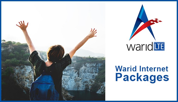 Latest Warid Internet Packages 2021