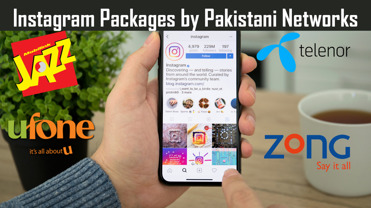 Latest Instagram Packages by Pakistani Networks